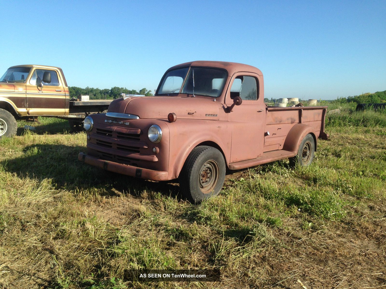 1951 dodge b 1 series 3 4 ton truck on a 1996 dodge. Black Bedroom Furniture Sets. Home Design Ideas