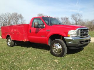 2004 Ford F - 450 Superduty 4x4 Turbo Diesel Service Truck Contractors Truck photo