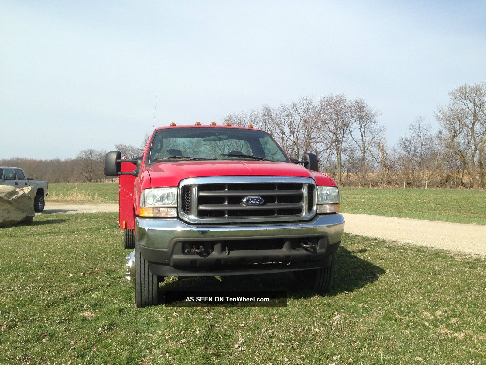2004 Ford F - 450 Superduty 4x4 Turbo Diesel Service Truck Contractors