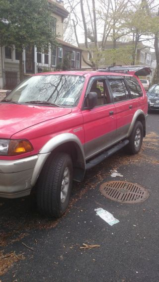 1997 Mitsubishi Montero Sport Xls Sport Utility 4 - Door 3.  0l photo