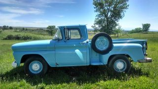 1960 Gmc 1 / 2 Ton Step Side Pickup photo