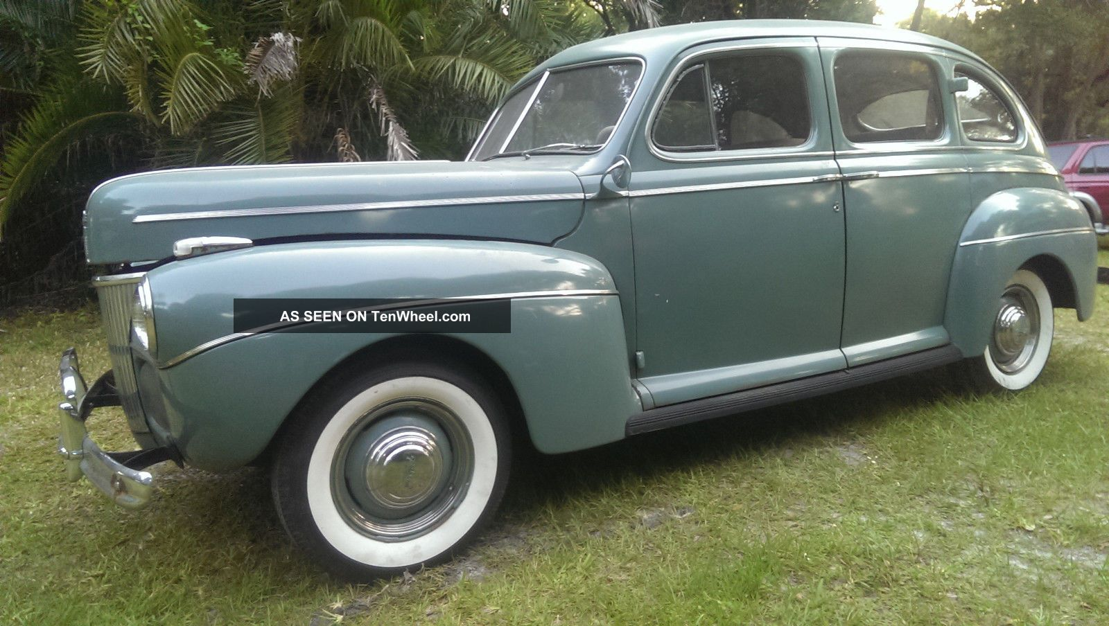 1941 ford deluxe 4 door sedan like sitting in a time capsule