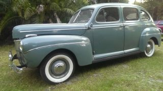 1941 Ford Deluxe 4 Door Sedan - Like Sitting In A Time Capsule photo