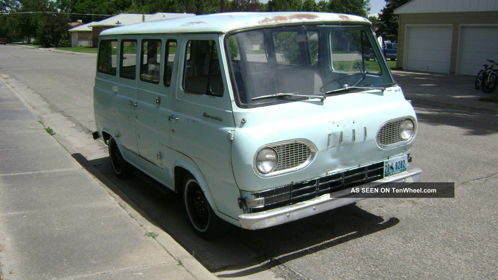 1961 Ford Econoline Van,  Runs,  Drives,  Stops,  Great Potential,  Dry Wyoming Van E-Series Van photo
