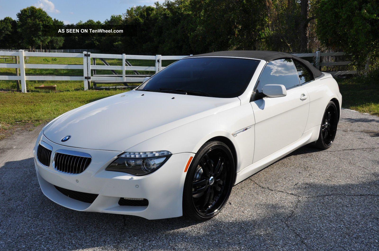 2008 bmw 650i convertibe with m6 styling 22 wheels and. Black Bedroom Furniture Sets. Home Design Ideas