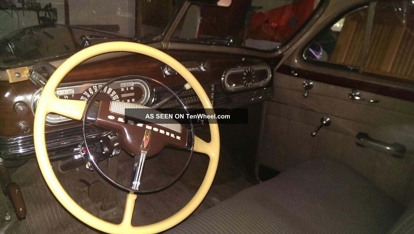 Details About 1947 Oldsmobile 76 Dynamic Cruiser 2dr Club Sedan Other photo