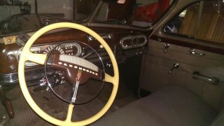 Details About 1947 Oldsmobile 76 Dynamic Cruiser 2dr Club Sedan photo