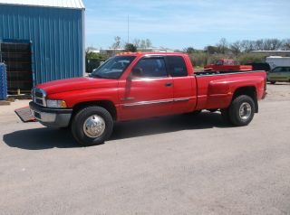 2001 Dodge Ram 3500 Laramie Slt Diesel Truck photo