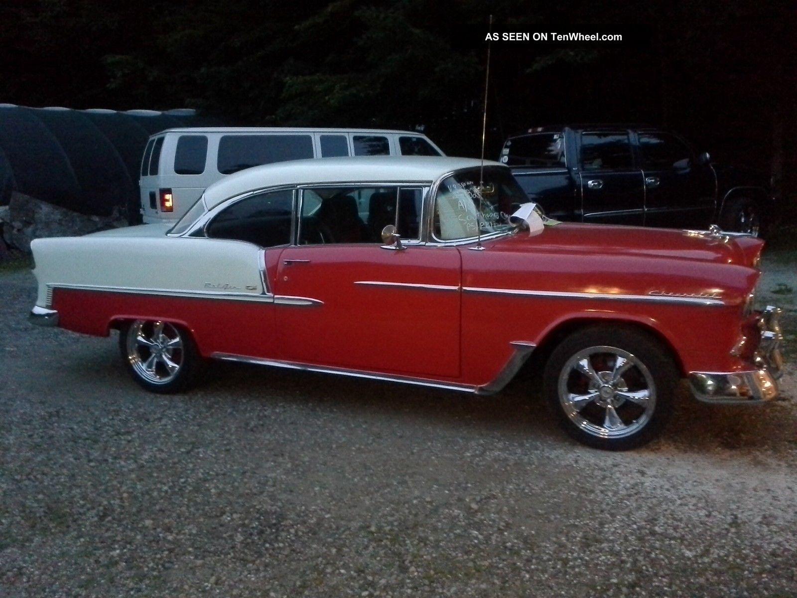 1955 Chevrolet Bel Air 2 Dr Htp Fuel V8 350 Auto Bel Air/150/210 photo