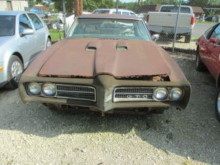 1969 Pontiac Gto Rust Dents Rust Scratches One Family Owned Verry Rusty photo
