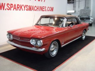 1963 Chevrolet Corvair Monza Spyder Convertible photo