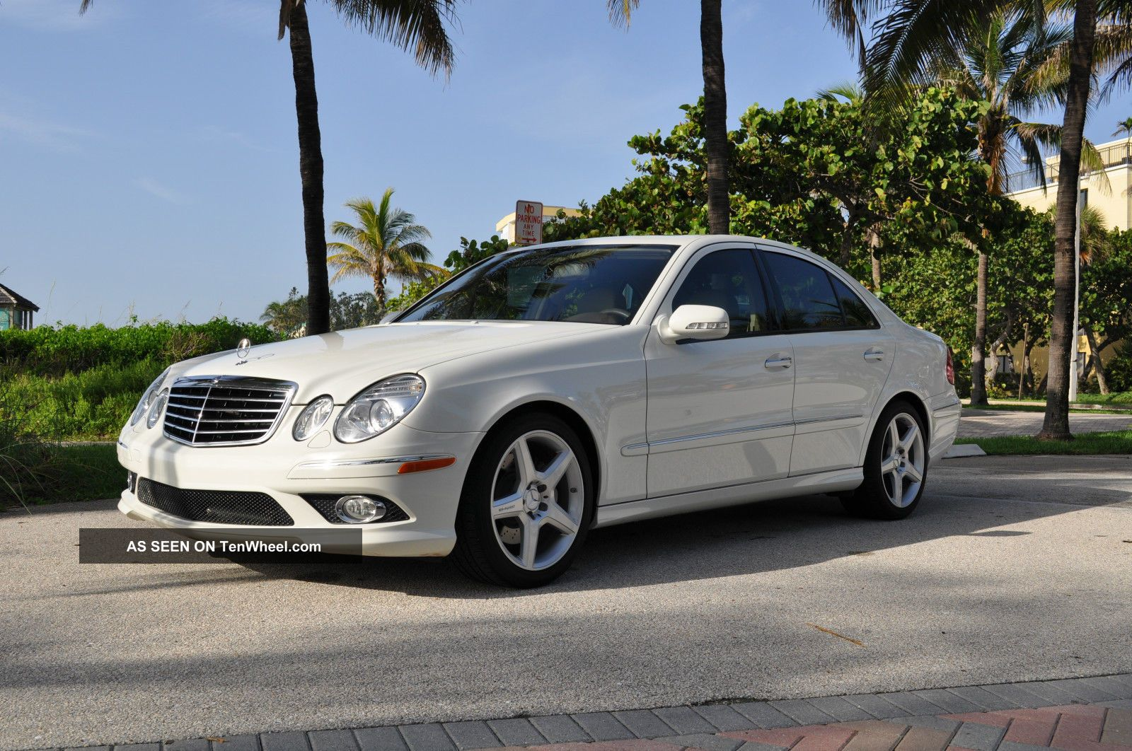 2009 mercedes benz e350 amg sport sat non smoker. Black Bedroom Furniture Sets. Home Design Ideas