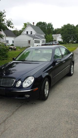 2006 Mercedes - Benz E350 4matic Sedan 4 - Door 3.  5l photo