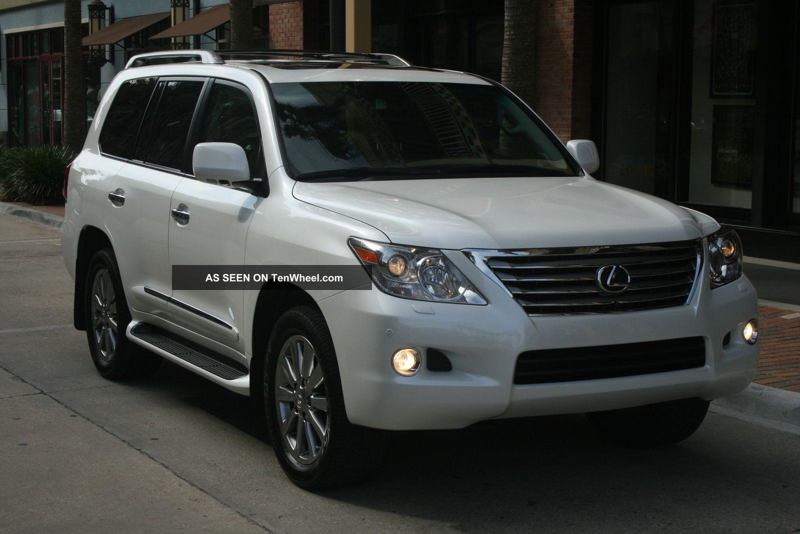 1 Owner 2010 Lexus Lx570 Awd 4wd White Loaded Gx Lx 460