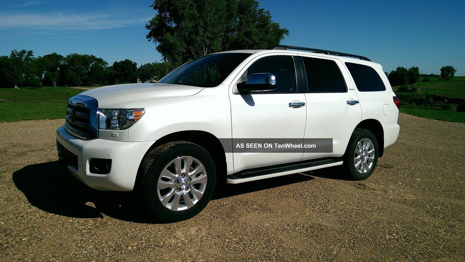 2013 Toyota Sequoia 4x4 Platinum 12k