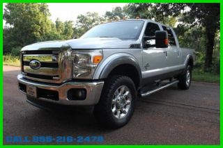 2012 Lariat Turbo 6.  7l V8 32v 4wd Pickup Truck Premium photo