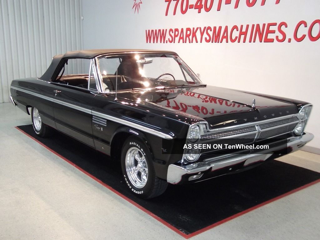 1965 Plymouth Fury Iii Convertible Fury photo