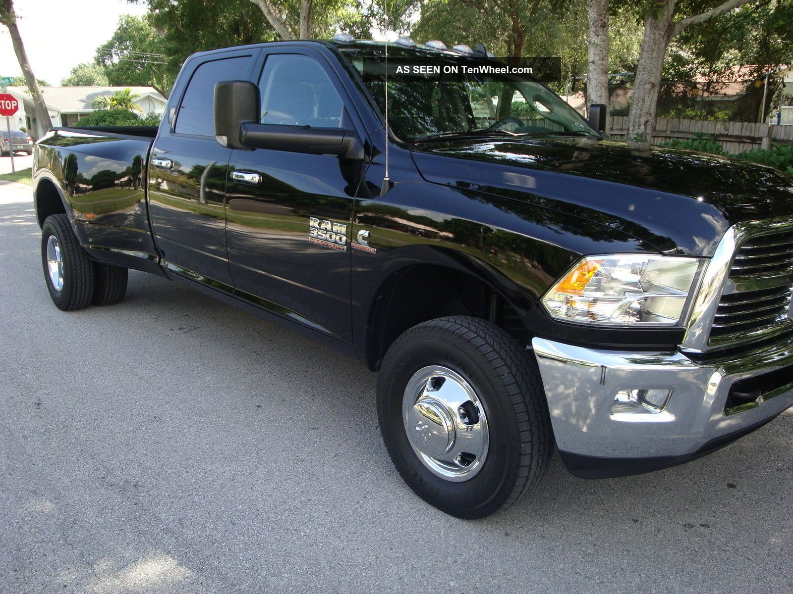 2014 Dodge Ram 3500 Crew Cab Aisin Trans 4x4 Cummins Crew Cab Big Horn Package