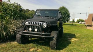 2004 Jeep Wrangler Unlimited Sport Utility 2 - Door 4.  0l photo
