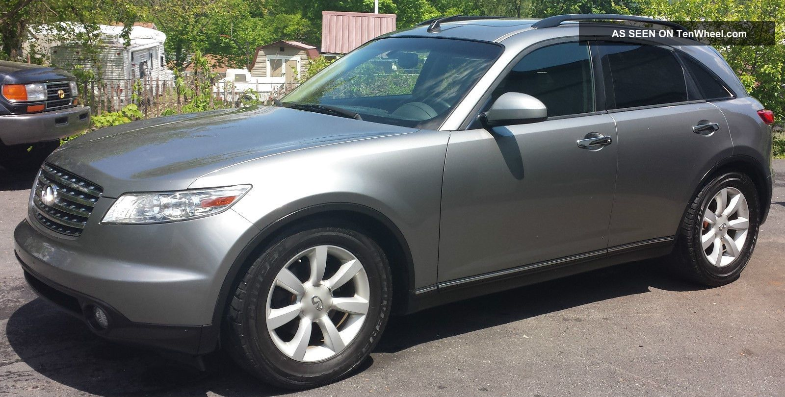 2005 Infiniti Fx35 Awd 3 5l 300hp Silver With Black