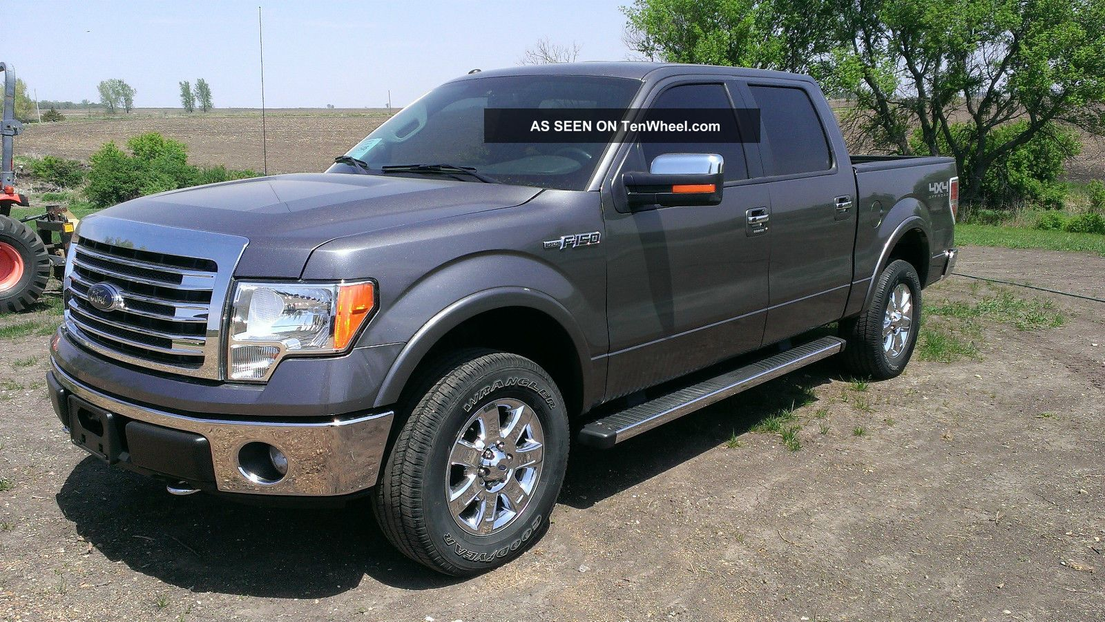 2013 ford f150 lariat 4x4 crew 4 door. Black Bedroom Furniture Sets. Home Design Ideas