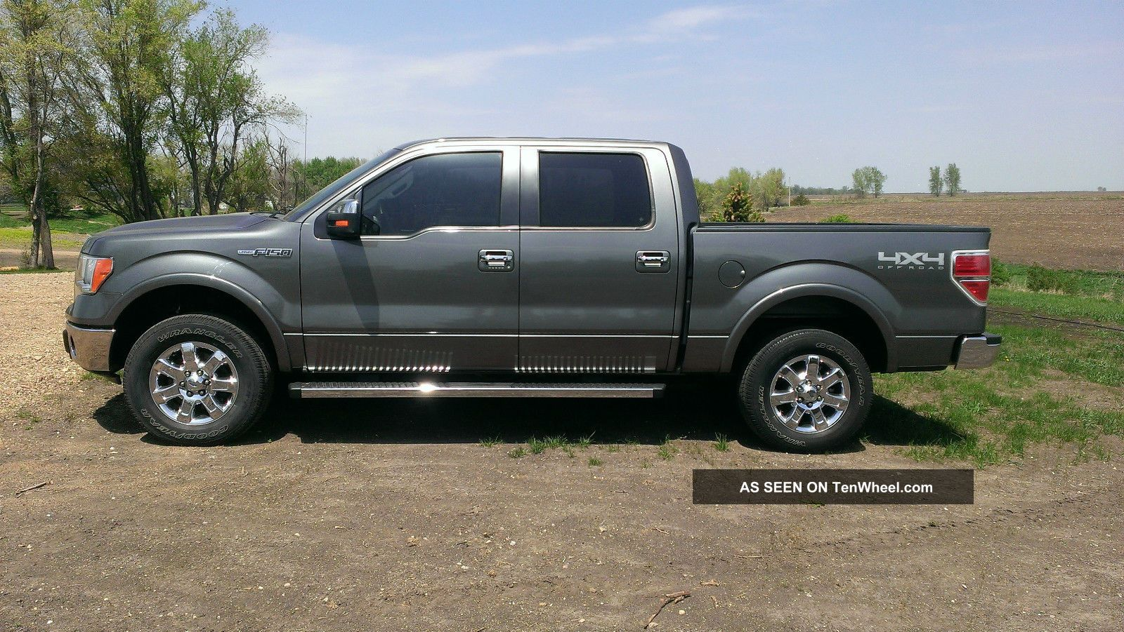 2013 ford f150 lariat 4x4 crew 4 door