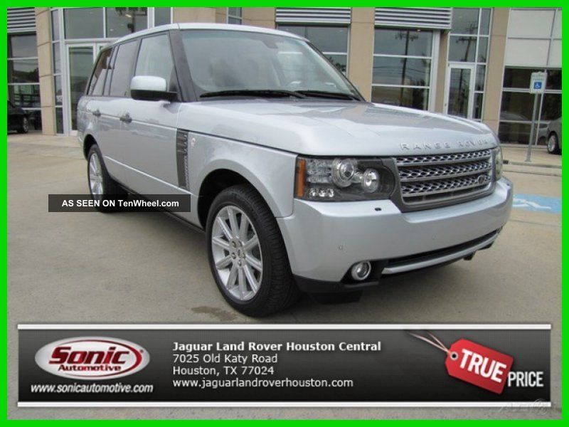 2011 Supercharged 5l V8 32v 4wd Suv Premium Range Rover photo