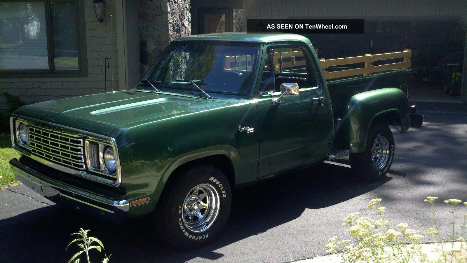 1977 Dodge Warlock 360 Auto