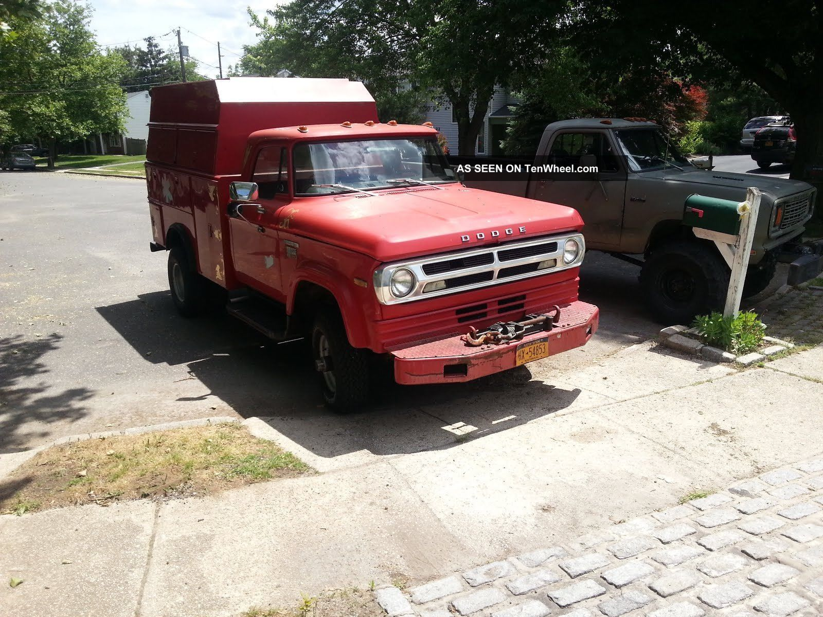 dodge  power wagon utility body