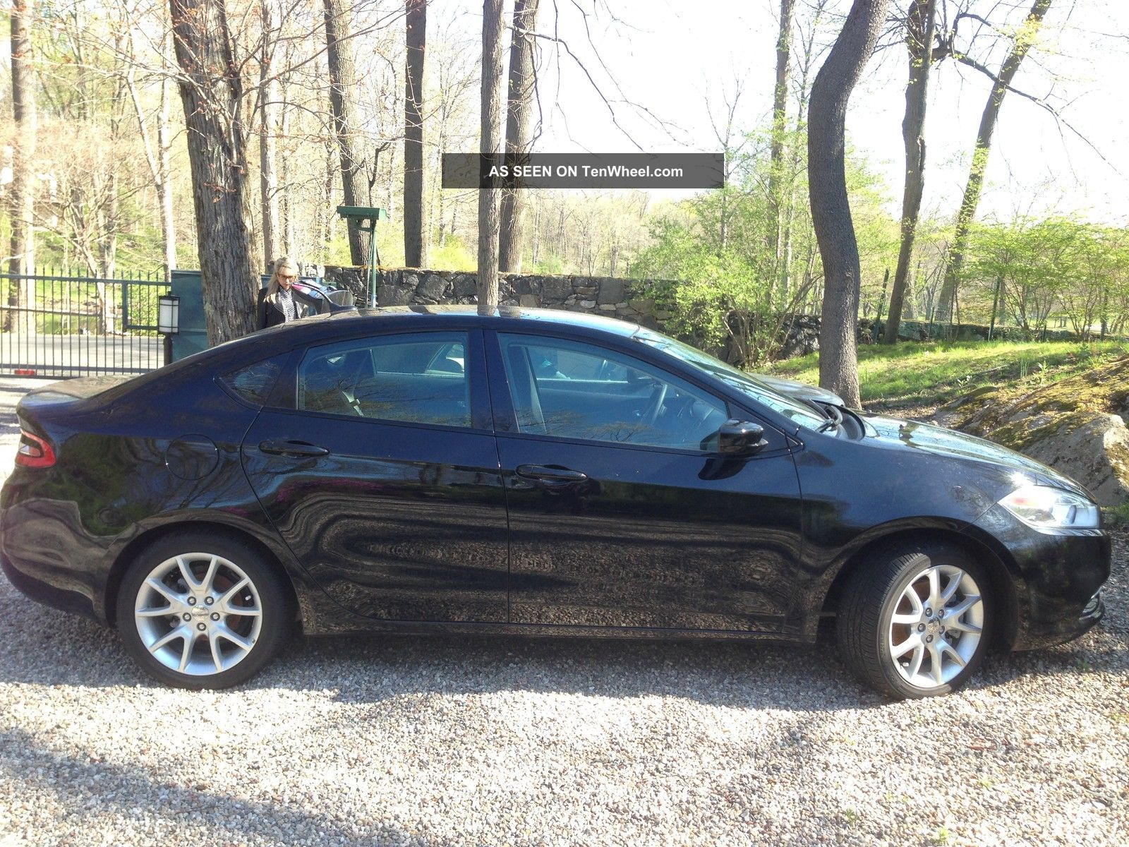 2013 Dodge Dart Sxt Sedan 4 - Door 2.  0l Dart photo
