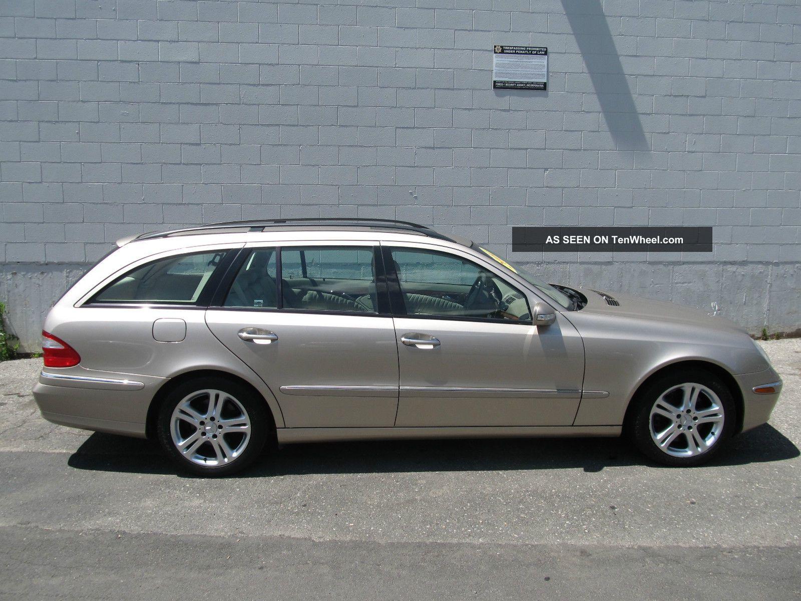 2004 Mercedes - Benz E500 4matic Wagon 4 - Door 5.