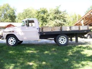 1959 Gmc Truck Bid To Win No Rust Awesome photo