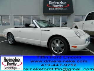 2002 Ford Thunderbird Base Convertible 2 - Door 3.  9l photo