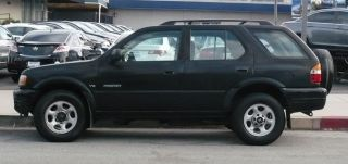 2001 Black Honda Passport 2wd Lx Sport Utility 4 - Door 3.  2l Glendale Los Angeles photo