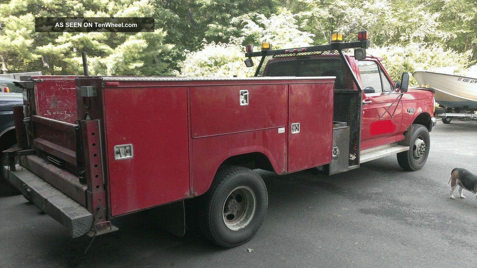 ford     diesel  utility body air