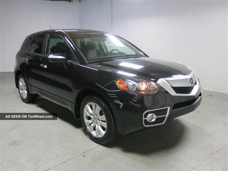 2012 Acura Rdx Turbo 2.  3l I4 16v Turbo Charged Automatic Moon Roof RDX photo