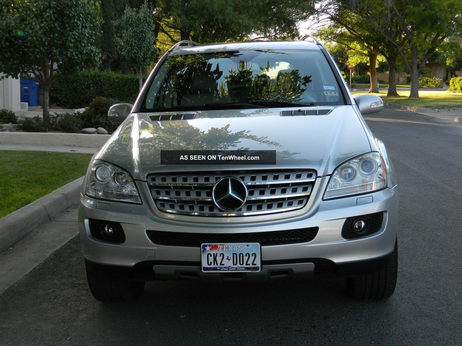 Excellent Mercedes Benz 2008 Ml 350 4 Matic Suv