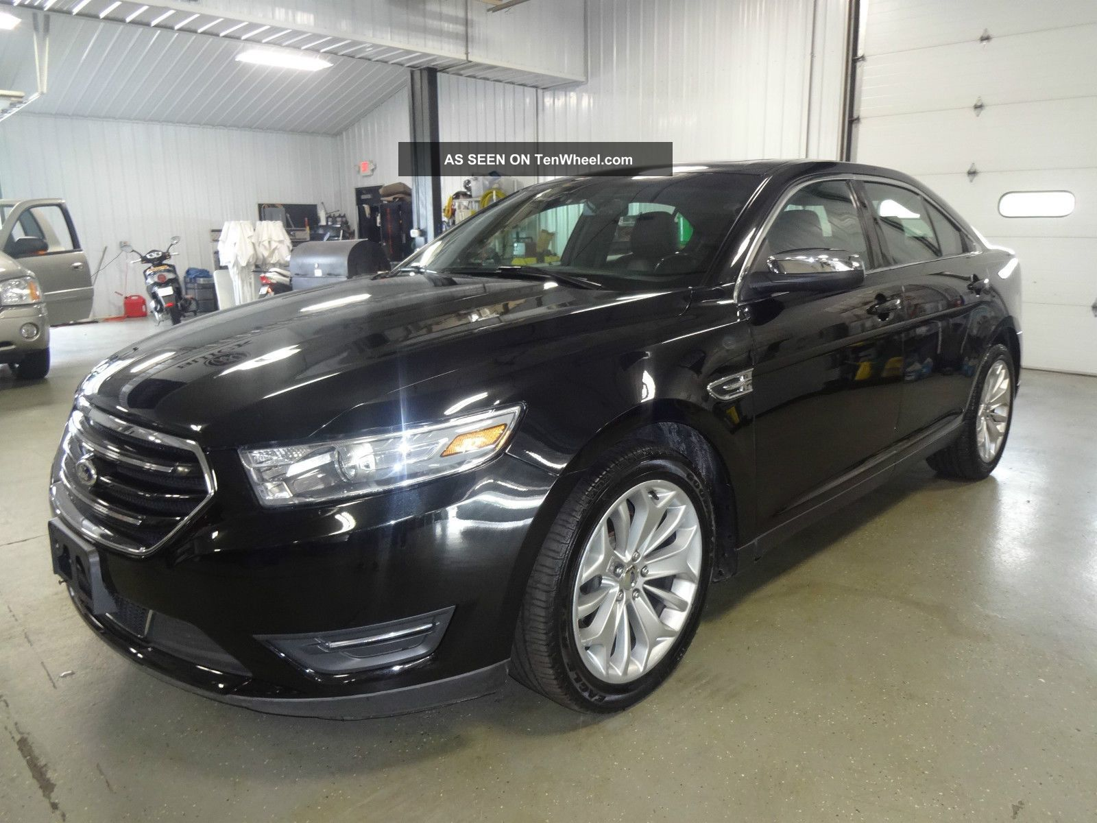2013 ford taurus limited sedan 4 door 3 5l black. Black Bedroom Furniture Sets. Home Design Ideas