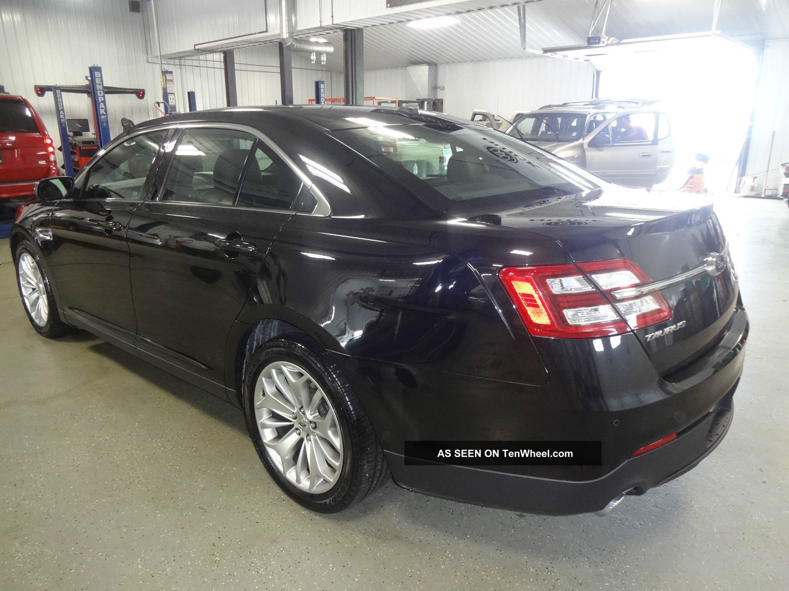 2013 ford taurus limited sedan 4 door 3 5l black taurus photo 3. Cars Review. Best American Auto & Cars Review
