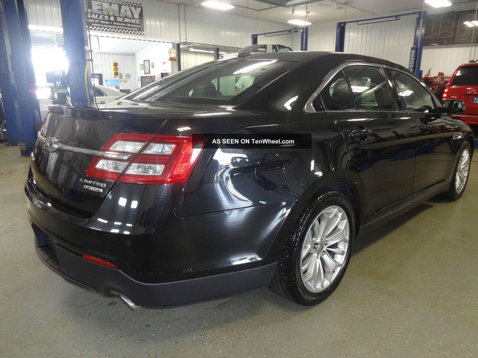 2013 ford taurus limited sedan 4 door 3 5l black. Black Bedroom Furniture Sets. Home Design Ideas