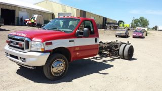2003 Ford F - 450.  6.  0 Diesel Engine.  Air Ride Suspension Must Go photo