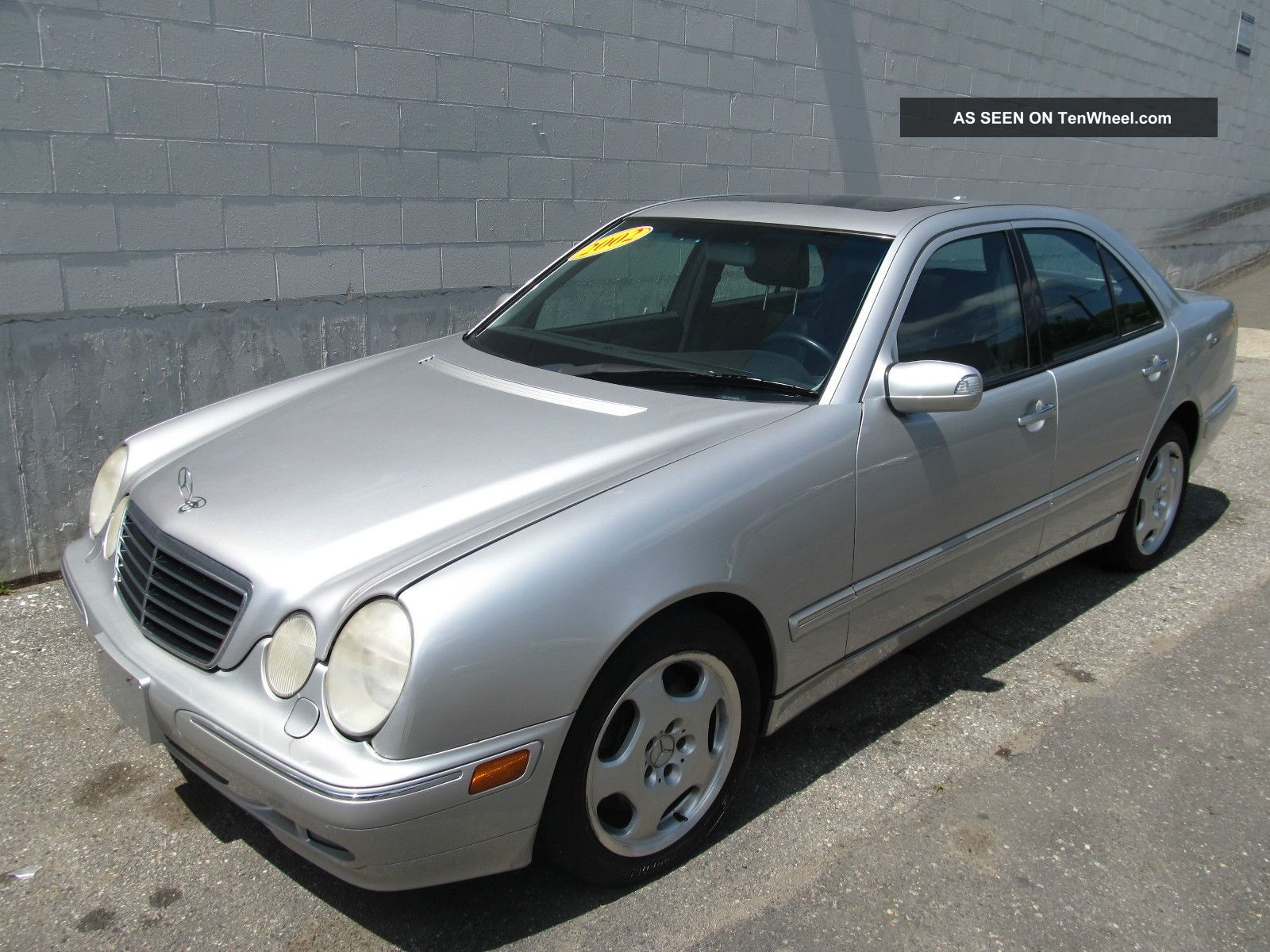 2002 mercedes benz e430 4matic sedan 4 door 4 3l