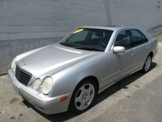 2002 Mercedes - Benz E430 4matic Sedan 4 - Door 4.  3l photo