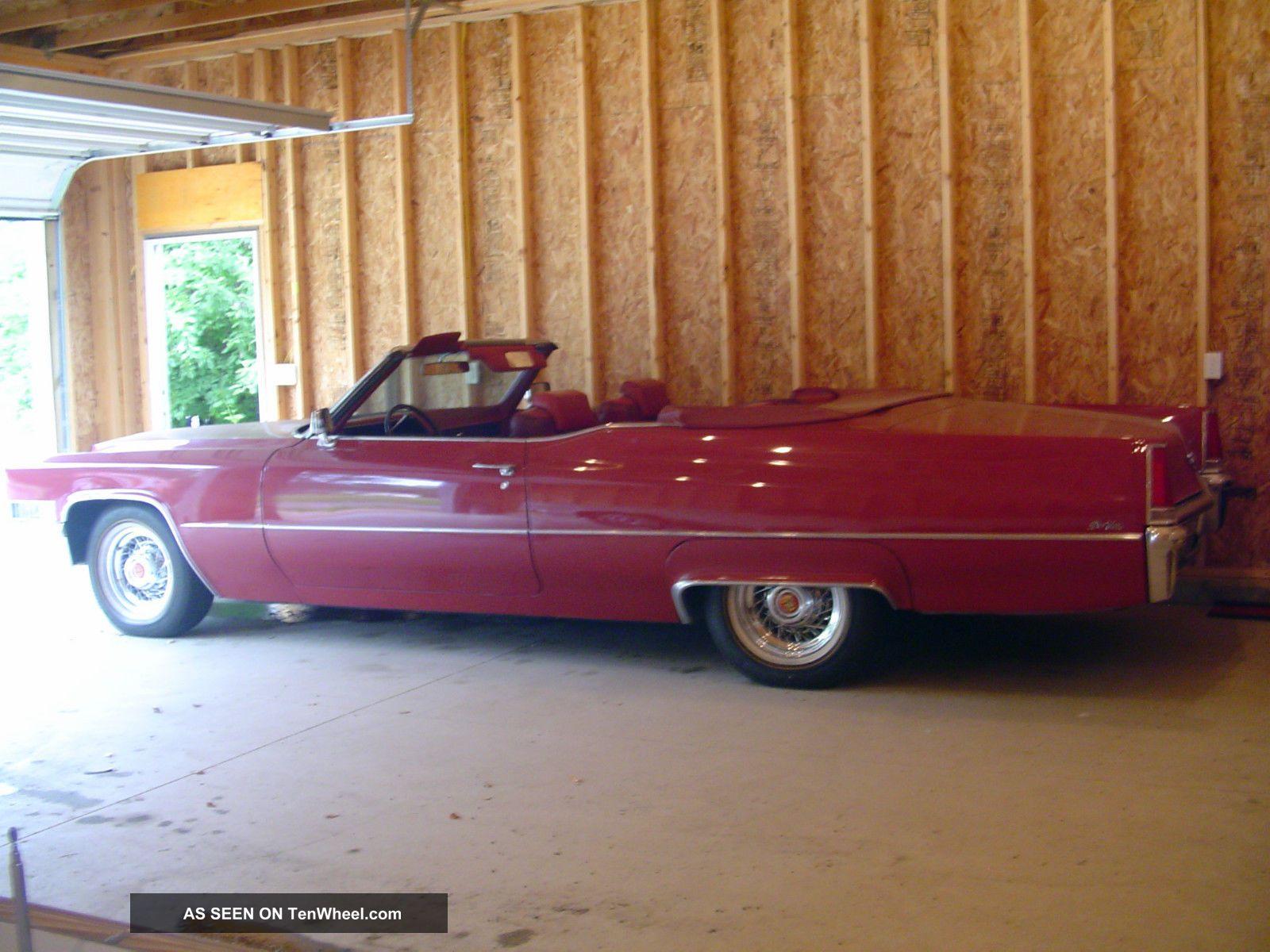 1969 Cadillac Deville Base Convertible 2 - Door 7.  7l DeVille photo