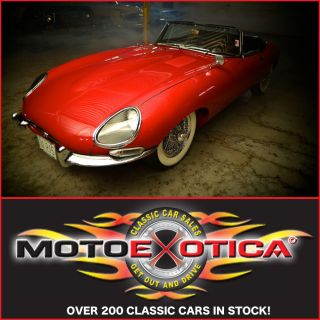 1962 Jaguar Xke Flat Floor - For The Alert Investor - Same Owner Since 74 - ' S Match photo