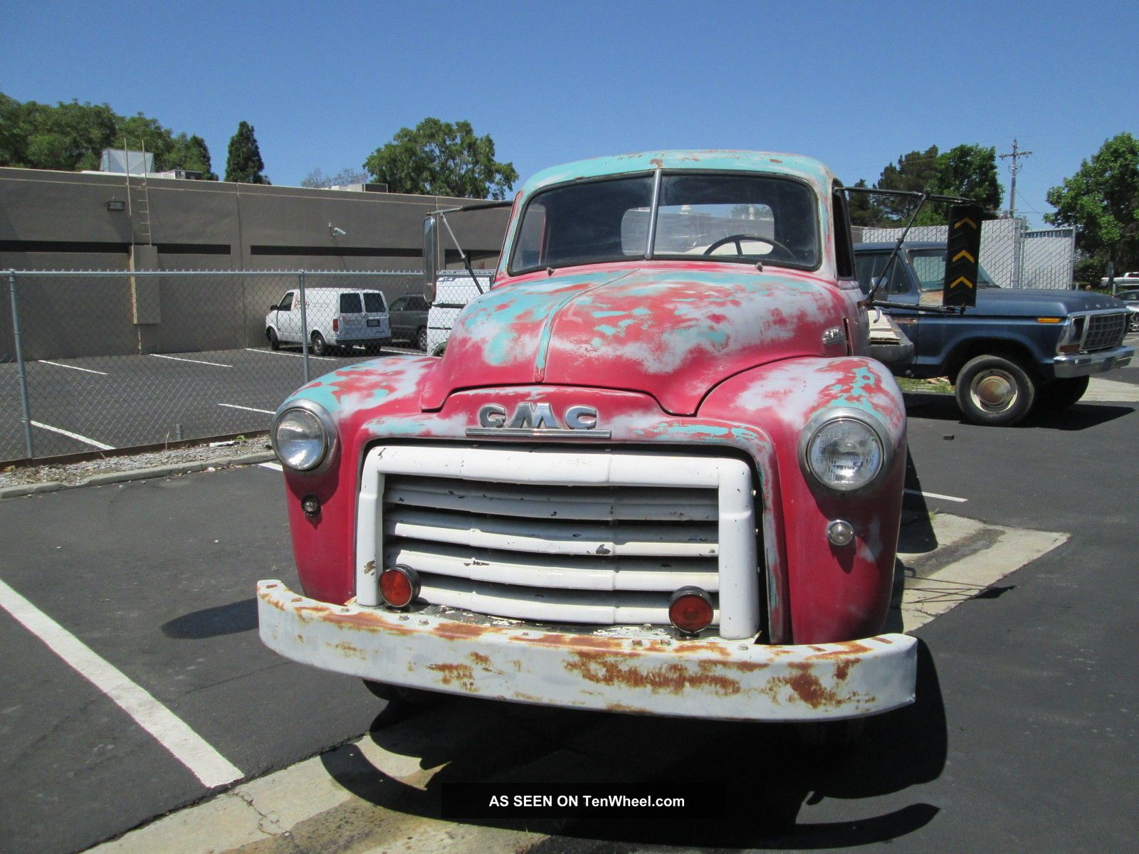 1948 Gmc 1 2 Ton Flatbed Calif Winery Survivor Awesome Patina Truck