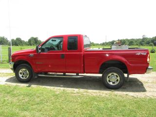 2002 Ford F - 350 Duty Xlt Extended Cab Pickup 4 - Door 7.  3l photo