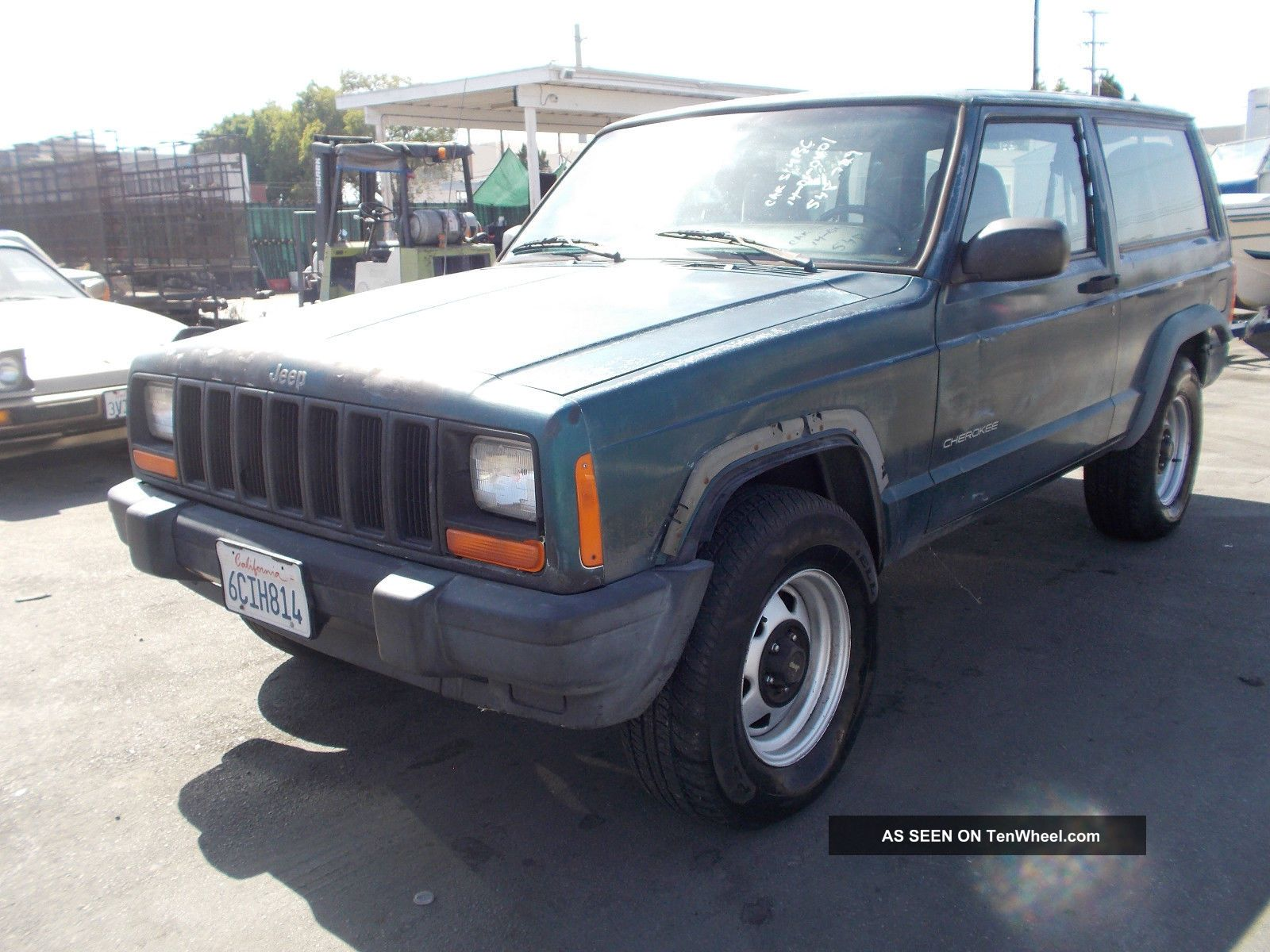 1997 Jeep Cherokee, Cherokee photo
