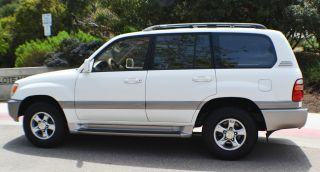 2000 Toyota Land Cruiser Base Sport Utility 4 - Door 4.  7l photo
