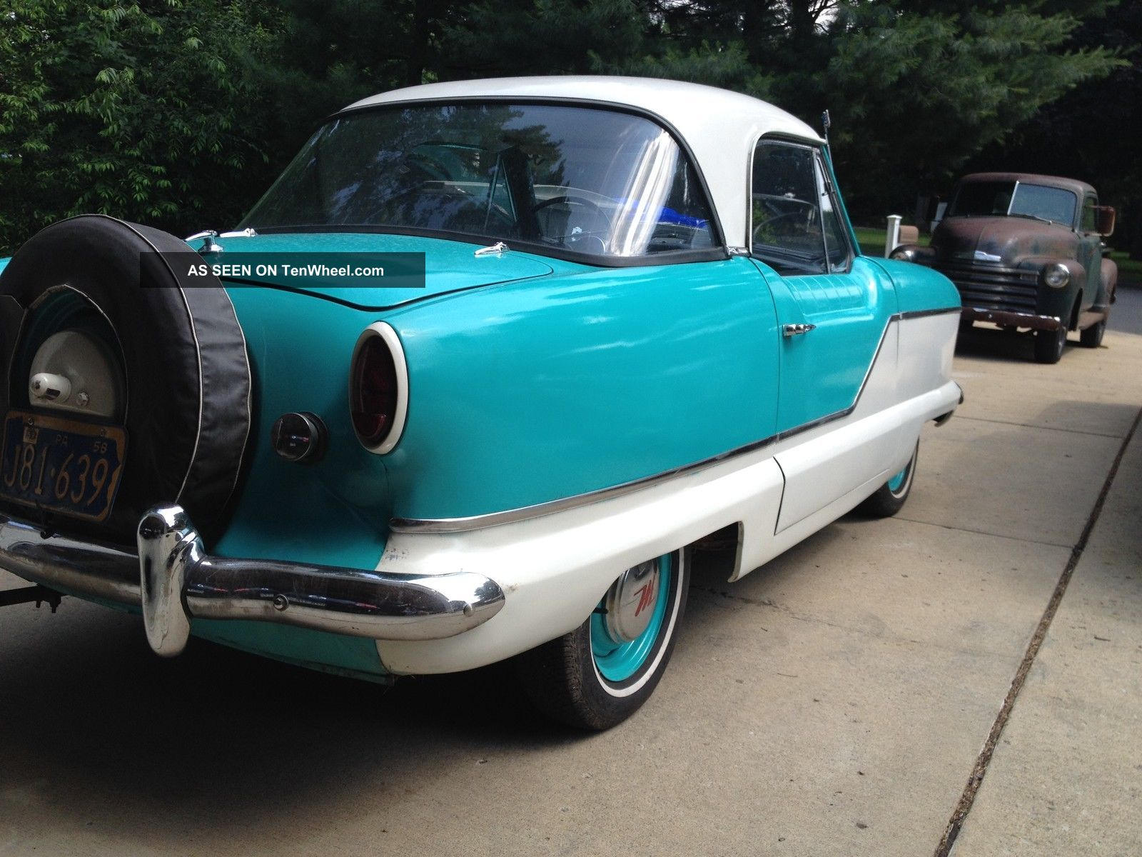 1959 Nash Metropolitan With Extra Engine,  Trans,  Clutch Etc Nash photo